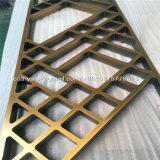 Comitato decorativo intagliato perforato di alluminio del metallo per la rete fissa, schermo, parete, divisorio, facciata