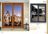 Estilo europeo barato que resbala la ventana de aluminio/la puerta