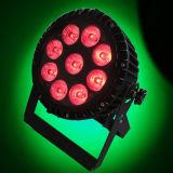 свет строба шайбы IP65 стены 9X15W Rgbawuv 6in1 напольный