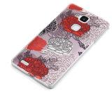 Leistungsfähiger hohler Telefon-Kasten des Milu Rotwild-Muster-TPU für Huawei Gehilfen 7