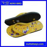 Nuevas sandalias unisex del deslizador del regalo del PE de la impresión del diseño