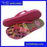 Тапочка Африки цветастая с планкой Bowknot для женщины