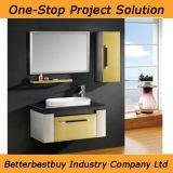 単一の洗面器が付いているステンレス鋼の浴室用キャビネット