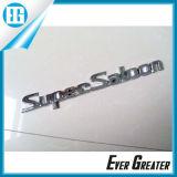 Os emblemas feitos sob encomenda personalizados do decalque da etiqueta do emblema do carro 3D cromaram emblemas do ABS para o carro