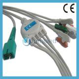 Cable del MEK ECG con los Leadwires