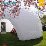普及したドームの家の白い空気販売のための膨脹可能なドームのテント