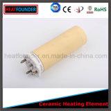 Elemento de calefacción de cerámica largo de Heatfounder de la vida laboral
