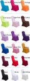 スパンデックスポリエステル平野の円形上の椅子カバー