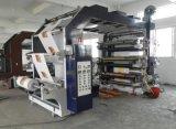 Machine d'impression flexographique haute précision à six couleurs avec 6 couleurs