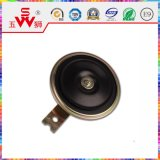 115dB Black Disk Electric Horn pour Motor Partie