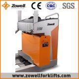 Impilatore elettrico di estensione con 1.5 altezza di sollevamento di capienza di caricamento di tonnellata 1.6m