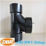 ABS Dwv размера 2 дюймов приспосабливая санитарный тройник