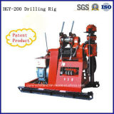 máquina hidráulica de la plataforma de perforación del receptor de papel de agua de los 200m (HGY-200)
