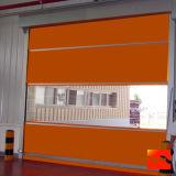 Roulement de PVC vers le haut de la porte à grande vitesse d'obturateur (HF-74)