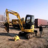 Used/80%New Mini/Small KOMATSU Hydraulic Crawler 5ton/PC50 Excavator