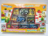 Miniauto-Förderung-Geschenk-Spielzeug-Karikatur-Auto-Minibus (2818)