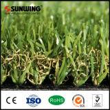 30mm Hausgarten-setzendes grünes Gras-Plastikteppich mit konkurrenzfähigem Preis