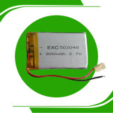 3.7V 800 Milliamperestunde Rechargeable Lithium-Polymer Battery 503048