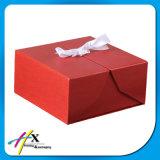 Rectángulo de regalo de papel de empaquetado de papel creativo de los cosméticos