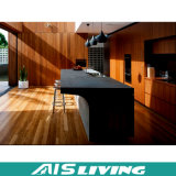 Projeto aberto dos armários da cozinha do estilo com tabela de jantar (AIS-K218)