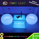 Bunte Möbel des LED-runde Kaffeetisch-/LED