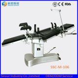 Mesas de operaciones quirúrgicas manuales ajustables de múltiples funciones hidráulicas fluoroscópicas de China