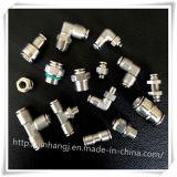 Ar de Jhshc que cabe os encaixes Kq2h06-01 pneumáticos masculinos