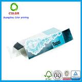 Rectángulo de regalo cosmético del papel de imprenta de las ventas al por mayor