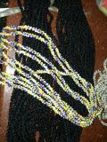 GlasBeads Strings/Glass Beads mit Threads/Glassbeads Strings/Pearl Beads