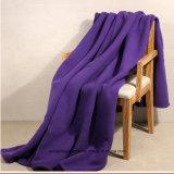 100%年のポリエステル柔らかく、暖かい旅行毛布