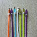 2A 알루미늄 합금 TPE iPhone 5/6를 위한 편평한 USB 케이블