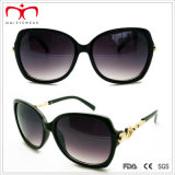 De Plastic Zonnebril van de Dames van de manier met de Decoratie van het Metaal (WSP412415)
