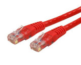 CAT6 RJ45 geformte UTP des Gigabit-CAT6 Orange Änderung- am Objektprogrammdes kabel-15FT