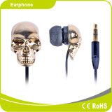 Form-Goldsilber-Skeleton Art-kleiner Kopfhörer