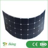 Bescheinigt durch hohen flexiblen Sunpower Sonnenkollektor der Ceiso Leistungsfähigkeits-120W18V halb