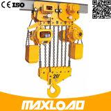Gru elettrica elettrica di velocità veloce della gru Chain 0.5t 1t 2t 3t 5t 380V dell'altezza libera bassa di Koio