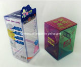 紫外線Offset Printing PET/PVC/PP Soft Crease Plastic Box (PPのギフトのパッケージ)