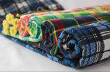 Shirtingか寝具または格子または編まれるか、またはとかされたまたはフランネルファブリック