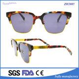 Heiße Verkaufsförderungs-kundenspezifische Spitzenform-handgemachte Sonnenbrille-Hersteller