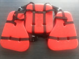 Drei Pieces PVC Material Working Life Jacket für Bohrinsel