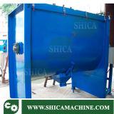 Máquina horizontal plástica del mezclador para los gránulos y el polvo plásticos