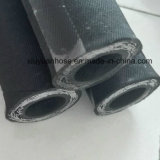 """De spiraalvormige Slang van de Olie van de Hoge druk Flexibele Hydraulische Rubber met 602-3b-5/8 """""""