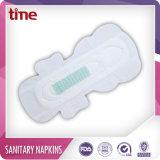 極度の柔らかい陰イオンの生理用ナプキンの女性の綿の衛生パッド