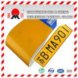 Recouvrement r3fléchissant de catégorie de plat du nombre de la voiture (permis) (TM8200)
