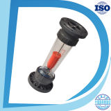アクリルの正方形は弁のよいロタメーターが付いているガスまたは空気または酸素のパネルの流れメートルを調節する