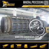 Schermo di lavaggio del crivello a tamburo di Riversand della pianta del minerale metallifero del macchinario di estrazione dell'oro del giacimento detritico