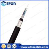 Câble fibre optique de conduit échoué par tube desserré de 16 faisceaux (GYFY)