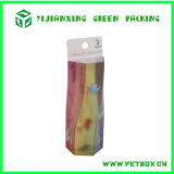 Printed Items를 가진 전시 Plastik Box Packaging Clear