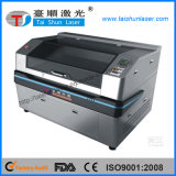 Gewebe-und Leder-Muster-Laser-Stich-Ausschnitt-Maschine 80W