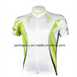 Kundenspezifisches Unisex Cycling Print Jersey mit Microfiber Material